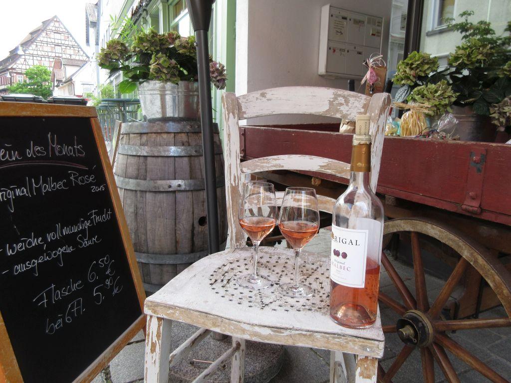 Vinum Reutlingen Weinprobe im Aussenbereich